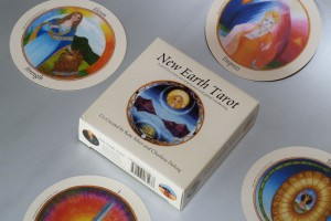 New Earth Tarot box and four cards